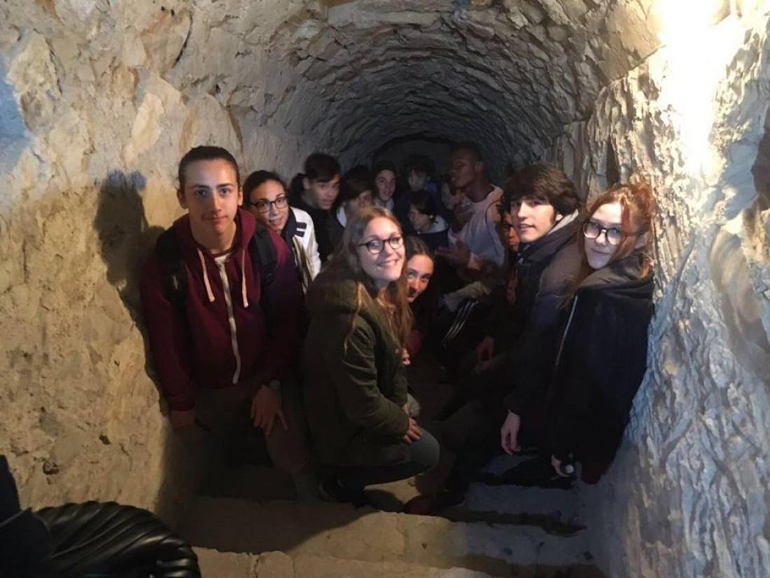 Gita Brescia sotterranea e visita al castello sul colle del Cidneo