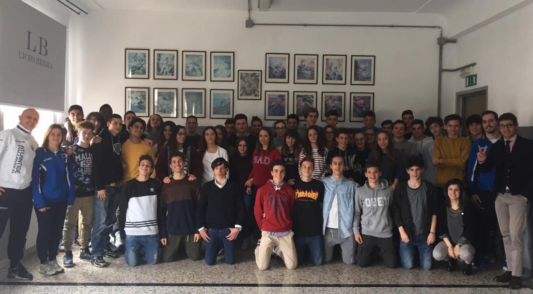 Progetto di giornalismo con Atlantide Pallavolo Brescia