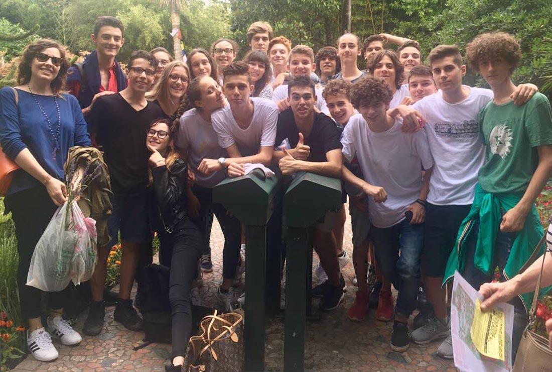 Musa e Giardino Botanico Garrone Riviera classe I A